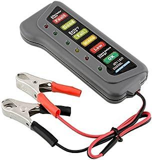 TreeLeaff Diagnóstico de bateria, bateria digital de carro 12 V