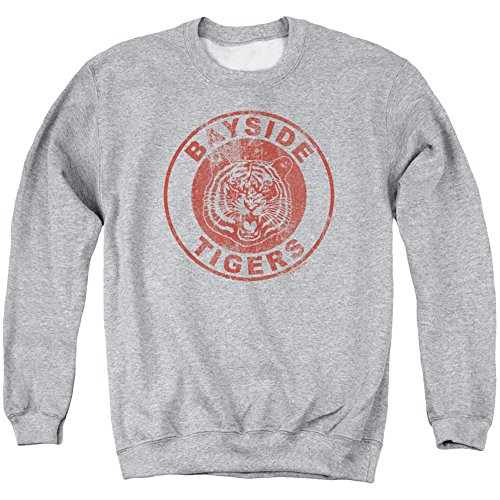 Crewneck Sweatshirt: Saved By The Bell - Bayside Tigers