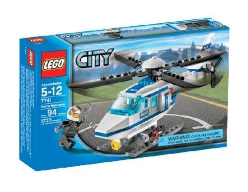 Lego City - Police Helicopter 7741