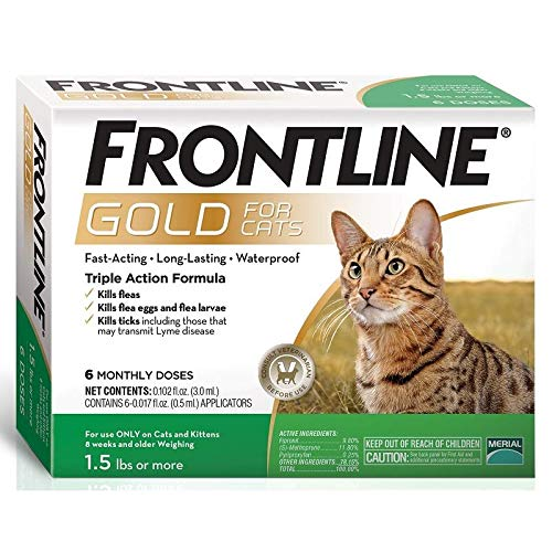 Frontline Gold for Cats (6 Month)