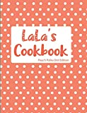 LaLa's Cookbook Peach Polka Dot Edition