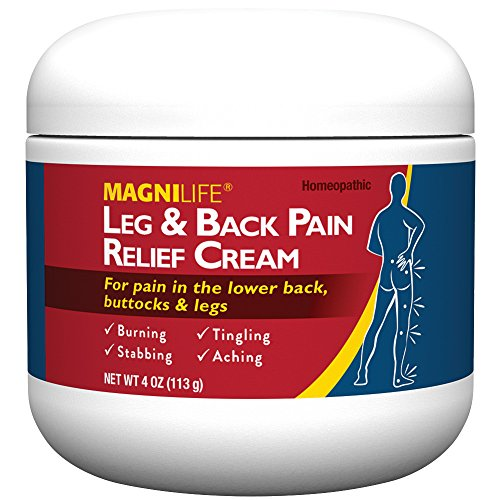 MagniLife Leg And Back Pain Relief Cream - Homeopathic Formula