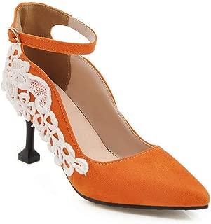 BalaMasa Womens APL11742 Pu Heels