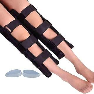 Leg Correction Belt Band Adjustable O/X Type Leg Posture Corrector Straightening Bandage Adult & Kids -55Cm-Black