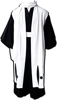 CHIUS Cosplay Gotei 13 Squad 6th Division Captain Kuchiki Byakuya Outfit Ver 1