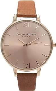 Olivia Burton Big Dial Quartz Movement Rose Gold Dial Ladies Watch