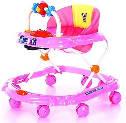 Baby Walker Multifonctionnel Walker Kids Enfants Walker Push Kids Rose jouetjouet bebejouets de plagejouet Jouet Bain Enfant