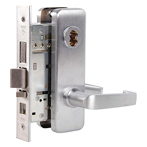 BEST Access Systems 45H7TA15J626 45H Dormitory Mortise Lock, Steel