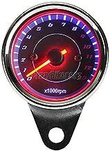 FidgetKute LED Backlight Tachometer for Yamaha V-Star XVS 650 1100 1300 Custom Silverado