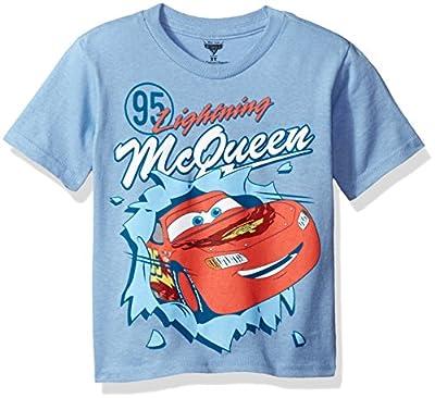 Disney Baby Boys' Toddler Cars Short Sleeve T-Shirt