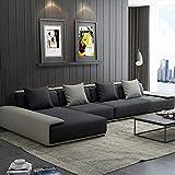 WSN Rinconera sofá,Sofá en Forma de L Sofá de jardín Muebles de jardín Sofá de Esquina Sofá de Esquina Modular de ratán con Juego de Muebles