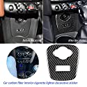 True-Ying Autoinnenraum USB AUX Panel Console Cover Aufkleber für Mini Cooper JCW F55 F56