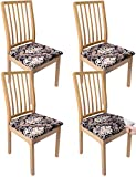 Timenu Chair Seat Covers,Printed Stretch Dining...