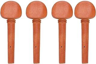 Alomejor Clavijas de Afinación de Violín 4 Piezas Clavijas de Afinación de Violín Pieza de Instrumento de Cuerda para Violín