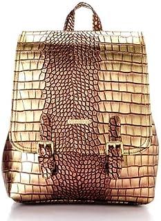مجموعه حقائب الظهر ذهبي جلد صناعي للنساء من سيلفيو توري
