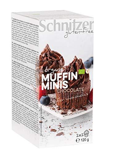 Schnitzer GLUTENFREE Mini Muffins Chocolate glutenfrei, 6er Pack (6 x 120 g)