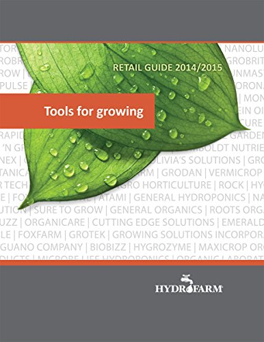 Hydrofarm Tools for Growing - Product Guide Catalog