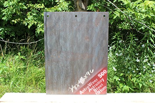 18' x 24' Torso Size Target - Three 1/2' Holes - 3/8' Thick AR500 Steel - Made in USA -!