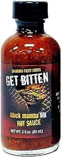RetailSource CaJohns Black Mamba Get Bitten Six Hot Sauce, 2 oz., 1 Bottle