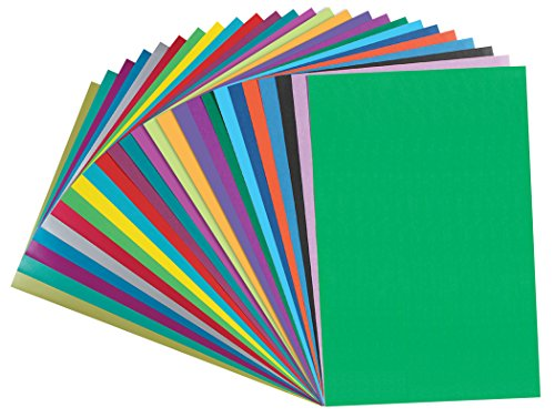 Pacon Fadeless Acid-Free Designer Art Paper, 12 X 18 in, Assorted Color, Pack of 100 Photo #2