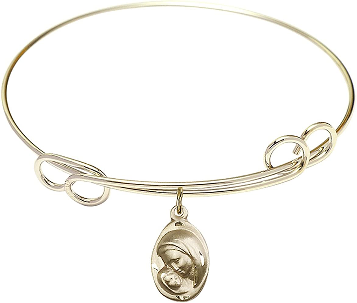 Outlet ☆ Free Shipping DiamondJewelryNY Double Loop Bangle Bracelet Madonna Ch with New mail order A