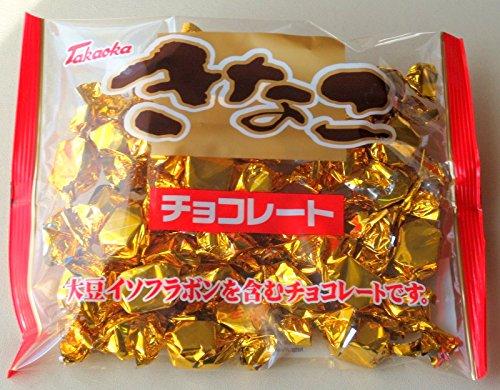 高岡食品工業 きなこチョコレート 165g×10袋