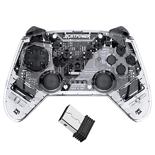 ECHTPower Wireless Controller für PS3, Wireless bluetooth Controller mit Double Shock, 6 Aschen Gyrosko und wiederaufladbare Akku, drahtlos gaminig Gamepad Joystick für Playstation 3 PC Windows10