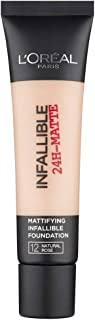 L'Oreal Paris Infallible 24H Matte Foundation 35Ml - 12 Natural Rose
