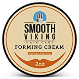 Hair Cream - Mens Hair Gel for Matte Finish & High Hold (2 Ounces) - Forming Hair Cream for Men - Styling Cream for Short And Long Hair Types
