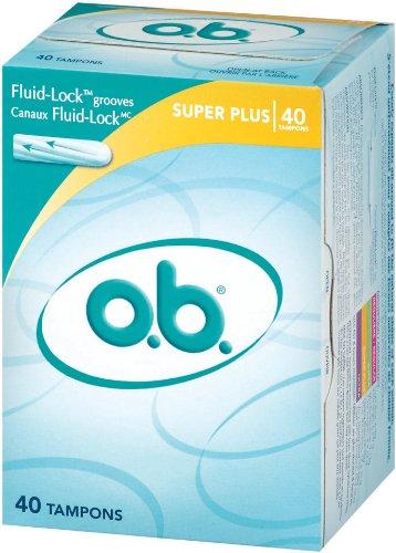 o.b. Tampons, Super Plus, 40 ct