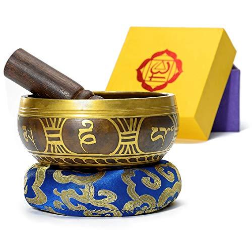 Tibetan Singing Bowls Set,Meditation Sound Bowl,Handcrafted yoga bowl