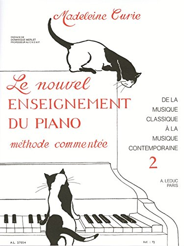 Madeleine Curie: the New Study of the Piano (Volume 2) Piano