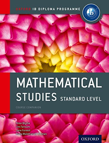 Ib Mathematical Studies Standard Level Course Book Oxford Ib Diploma Program
