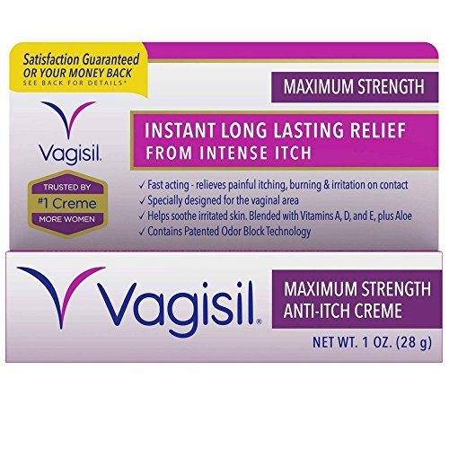 Vagisil Maximum Strength Anti-Itch Creme 1 oz (Pack of 2)