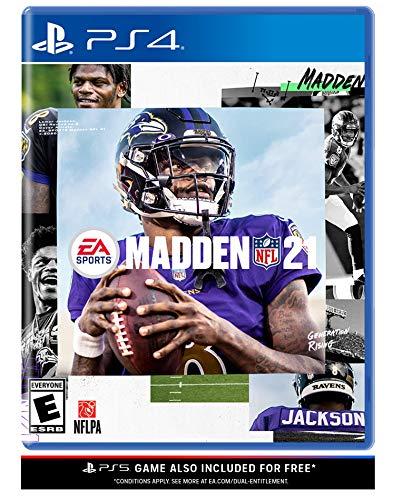 Madden NFL 21 – PlayStation 4 & PlayStation 5 (Video Game)