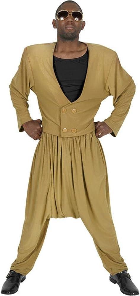 Adult Men's Mc Atlanta Mall Hammer Halloween Gold Costume New product!!