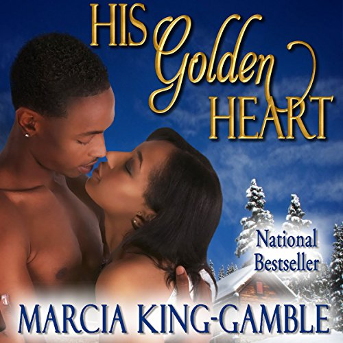 His Golden Heart audiobook cover art