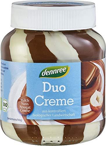 Duo-Creme, Nougat, Milch, Nuss, glutenfrei BIO 400 g - DENNREE