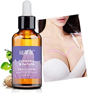 Angmile Papaya Extract Breast Enhancement Oil Beautiful Body Curve Firming and Lifting Oil Natural Breast Enlargement