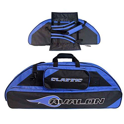 Avalon Classic–116cm–Compound funda con función de mochila, negro / azul