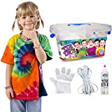 18pcs / Set Kit Tie-Dye, DIY Ropa Graffiti Dye Party Supplies Tela Vibrante Textil Pintura Permanente Colores Kit de Tinte restaurado