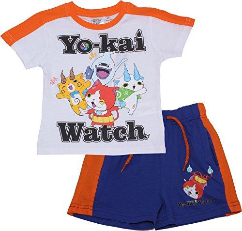 YO-KAI WATCH - Pijama dos piezas - para niño blanco blanco