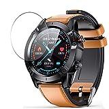 Vaxson Protector de Pantalla, compatible con AGPTEK G20 smart watch, 3 Unidades TPU Film Screen Protector [ No Vidrio Templado ]