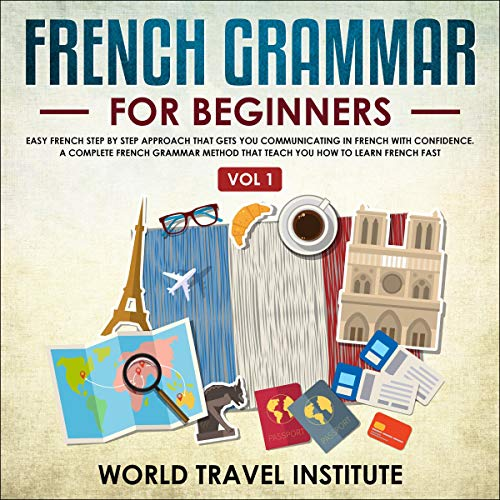 Couverture de French Grammar for Beginners
