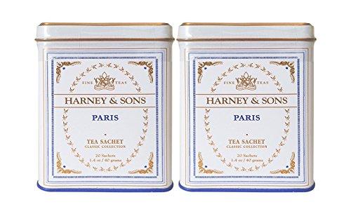 【2個セット】HARNEY&SONS ハニー&サンズ パリティー ティーバッグ20個入り 1.4 oz (40 g) [並行輸入品]