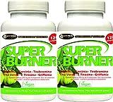 Super Burner 2 BOX x 120 tabletas Quemador Adelgazante Potente...