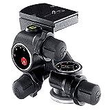 Manfrotto Junior Getriebeneiger mit Drehknöpfen, für Kamerastative, hoch präziser Kopf, Fotoausrüstung, Kamera, für Profi-Fotografen