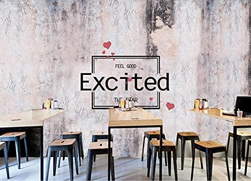 Papel tapiz Fotomural bar cafetería 3d Paneles decorativos pared -300cmx210cm
