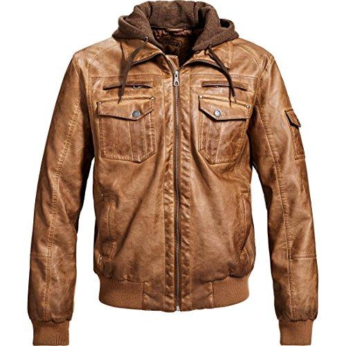 Spirit Motors jas tussenjas zomerjas jas Urban vrijetijdsjasje met capuchon 4.0, heren, casual/mode, het hele jaar door, textiel