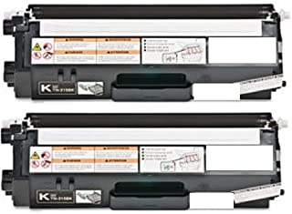 GLB © Brother TN315 High Yield High OEM Quality 2 x BLACK Toner Cartridges for Brother DCP-9055,DCP-9055CDN,HL-4150,HL-4150CDN,HL-4570,HL-4570CDW,HL-4570CDWT,MFC-9460,MFC-9460CDN,MFC-9560,MFC-9560CDW,MFC-9970,MFC-9970CDW.